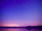 Star Trails over Lake Talquin